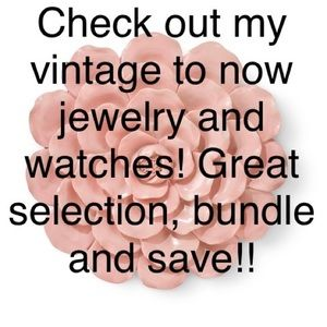 Lots of jewelry & watches